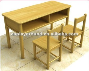 AMAZING !!! EXCELLENT QUALITY CHILD TABLE SET ,WOOD CHILD TABLE SET size of study table (M11-07204)