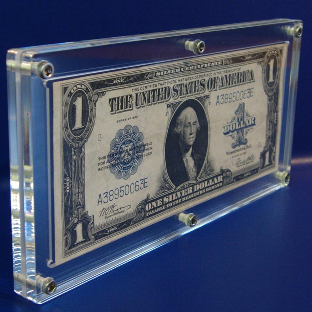 Desktop Verschiedene Stil Acryl Bank Uns Hinweis Währungstasche ...