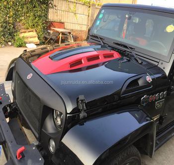 MOPAR JK Jeep Wrangler Rubicon 10th Anniversary Capota Capô Do Motor Com  Aberturas Funcional