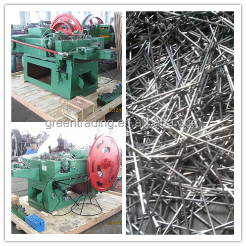 low carbon steel wire nail making machine
