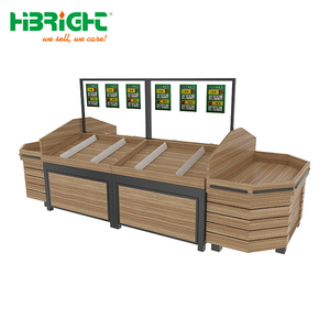 Supermarket Vegetable Rackfruit Display Stand With Good Quality