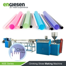 automatic 3 color extruding making machine for drinking straw production