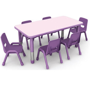 New & Original rectangular kids table with chair preschool furniture classroom chairs and tables good after service