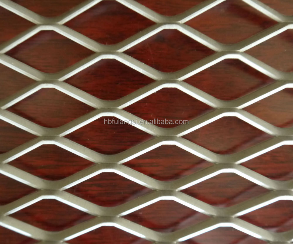 Lightweight Decorative Expanded Metal Mesh Used In Architectural ...