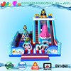 EN14960 penguin big inflatable kids playground equipment giant inflatable jumping castle fun city