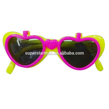3160404-95 kids party glasses Cheap Promotional Fashionable Cartoon Ears Kids Toy Plastic Sun Glasses