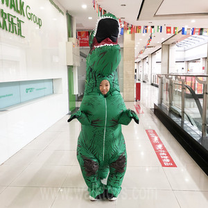 Kids Inflatable Costume T-rex Inflatable dinosaur Costumes for sale