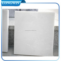 Chinese snow white marble tile and slab