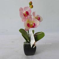 Artificial Potted Vanda Orchid Plants