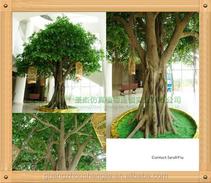 China Shengjie Artificial Arbol Decorativo Troncoficus Artificial - Troncos-de-arboles-decorativos
