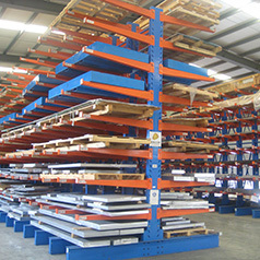 Heavy Loading Steel Storage Drive in Pallet Rack System