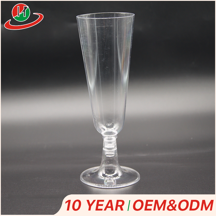 Top quality custom food grade toasting disposable plastic wine champagne cocktail tasting cup for party