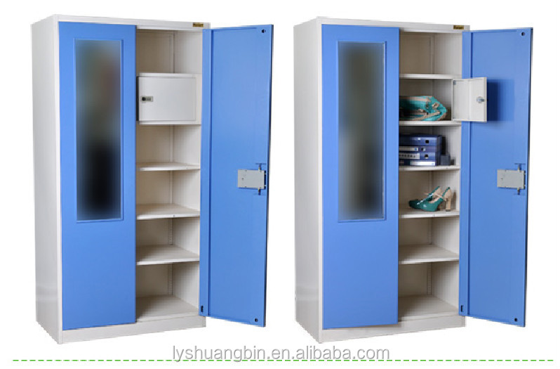 Nice India Geodrej Bedroom Hanging Cabinet Design/ Mirror Door Clothes Storage  Bedroom Hanging Cabinet Design