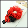1.5X 36 cm children headbands baby hair bow fashion accessory with jewelry TLLC-54