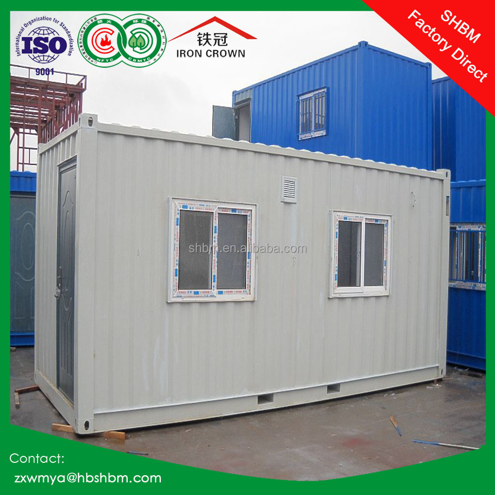 Estructura de acero de panel s ndwich casa contenedor - Casas de panel sandwich ...