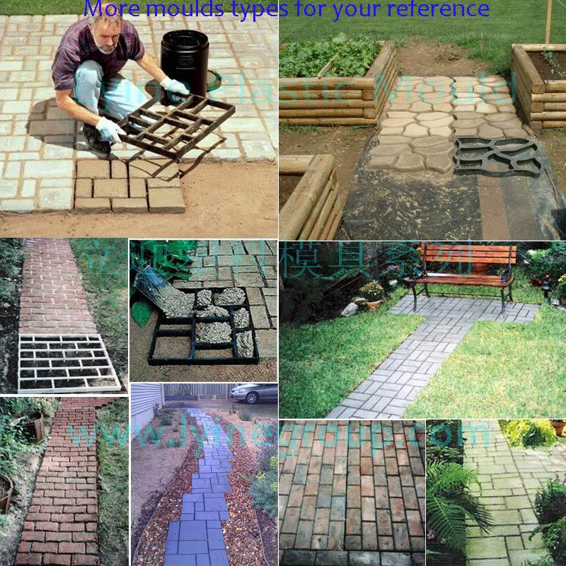 Lyine concrete cement pathway walk pattern paving plastic garden lyine concrete cement pathway walk pattern paving plastic garden sidewalk driveway pavers lowes solutioingenieria Choice Image