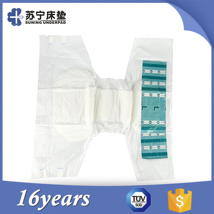 Hot Sale High Quality New And Soft Ultra Thick Baby Adult Diaper In Bales