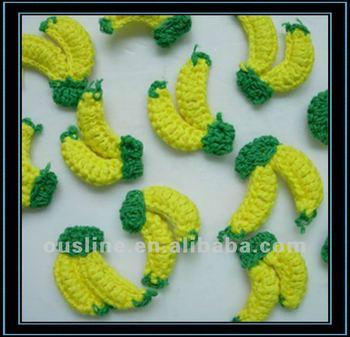 Häkeln Banana Für Dekoration Verkaufmini Häkelarbeit Blume Buy