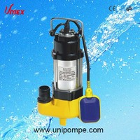 Top quality submersible sewage floating pump