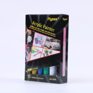 Ceramic Painting Permanent Marker Acrylic Paint Pen