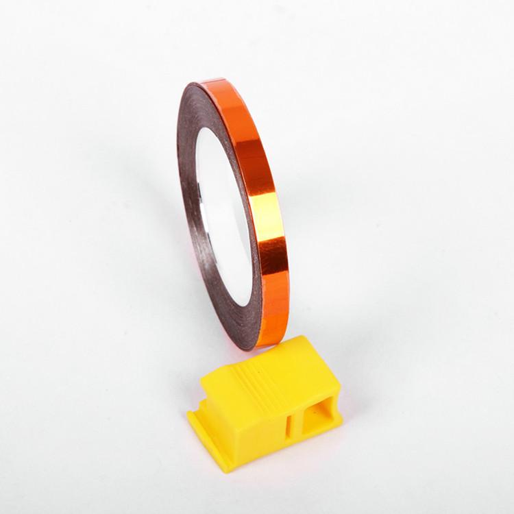 Shinning colorido fita reflexiva de advertência reflexivo adesivos de carro luminosa Trims auto-adesivo refletivo fita
