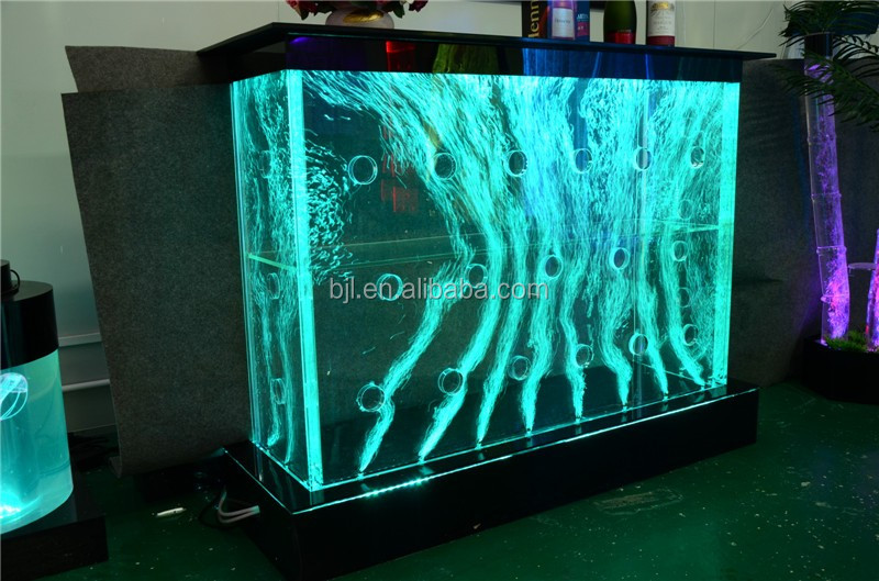 led light bar table acrylic water bubble lighted bar. Black Bedroom Furniture Sets. Home Design Ideas