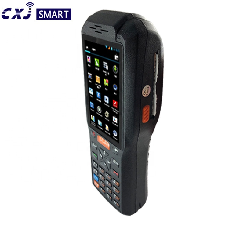 Industrie Android Robusten PDA/PDA-POS-Terminal Mit Drucker