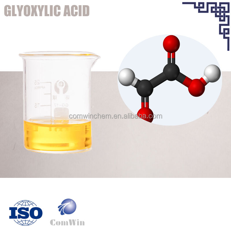 Glyoxylic acid 50% water solution chemicals supplier cas 298-12-4