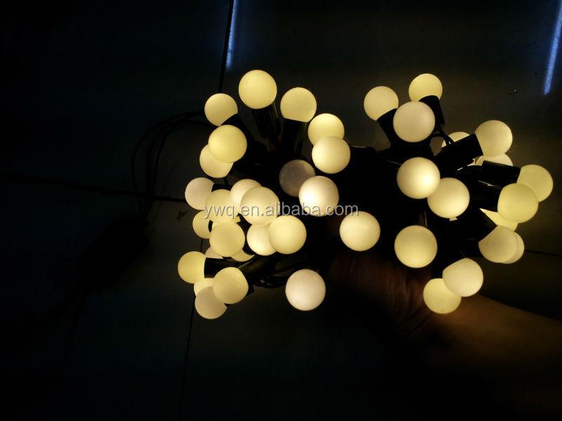 Hotselling 10m100led Round Bulb String Light Warm White Led ...