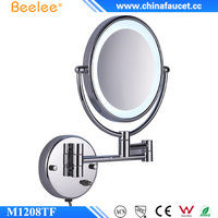 Beelee M1208TF Wall Mounted Double Side Bathroom Magnifying LED Makeup Mirror