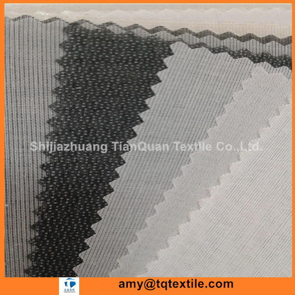 High Quality Polyester Non Woven Fusible Interlining