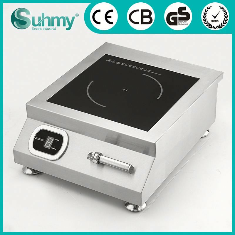 Commerical 5000W high power electric range induction cooker