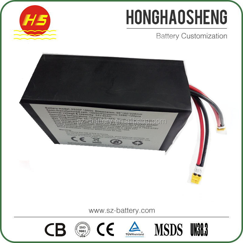 wholesale 18650 lithium 60V 40ah battery pack