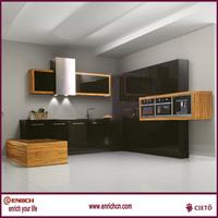 2015 new idea pre made kitchen cabinets