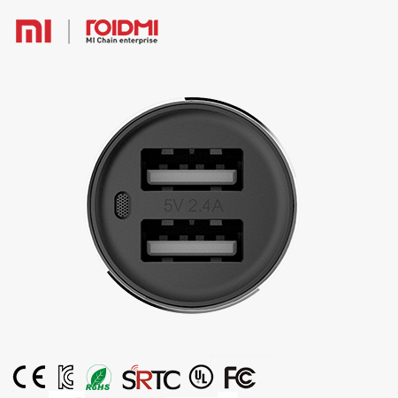 2016,Xiaomi 5V,2.1A Roidmi New FM transmitter Bluetooth 4.0 Usb quick charge car charger