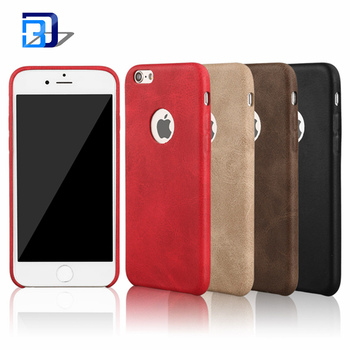 2017 New Arrival Luxury Ultra Thin Phone Case For iPhone 6 6s Case PU Leather Back Cover