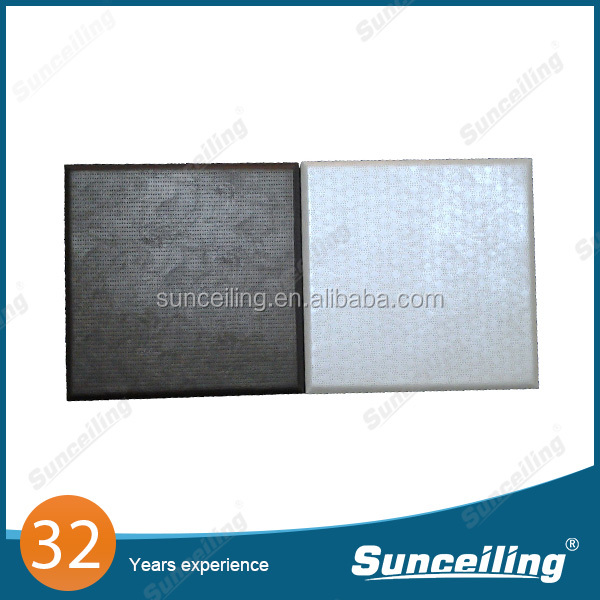 High Quality Fabric Covered sound absorption acoustic diffuser panel