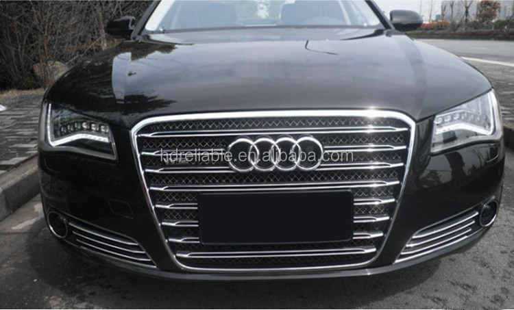 for audi a8 grill a8 chrome front grill for audi a8 d4. Black Bedroom Furniture Sets. Home Design Ideas