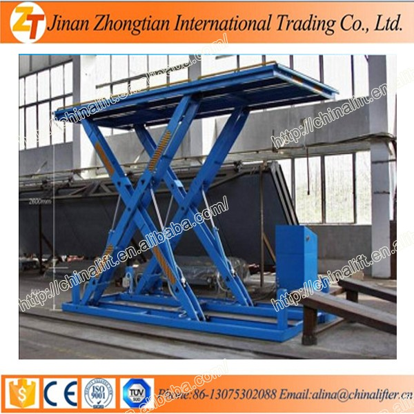 Electric Hydraulic Car Scissor Lift Table Garage Used Car Lifting Equipment  Ce Price - Buy Electric Hydraulic Car Scissor Lift Table Garage Used Car