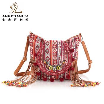 ba9eadfe2881 Пляжная сумка Этническая Boho Bambi флип раскладушка рюкзак для колледжа  или путешествия