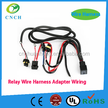 9005 9006 H10 9145 H7 H11 Hid Conversion Kit Relay Adapter Wire Harness H Relay Wiring Harness on