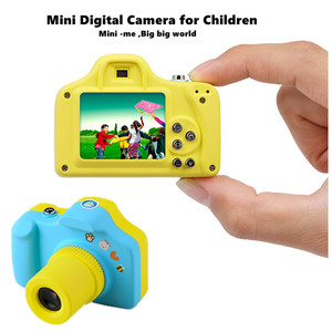 Alibaba best seller 1.5 Inch 2MP 1080P HD Mini Digital Child Camera Colorful Picture and Video Cute Fun Kids Children Camera