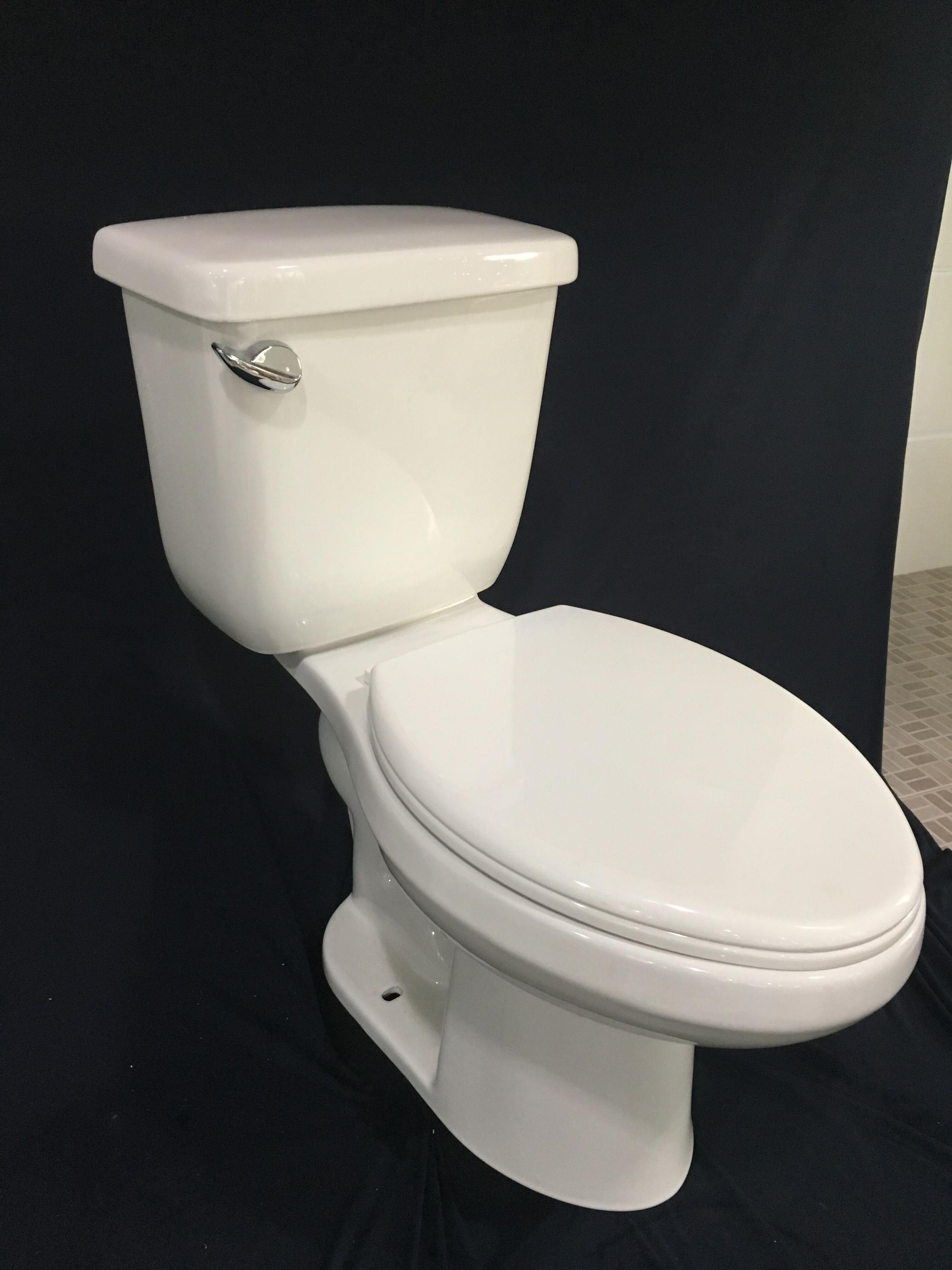 American Standard Sidel Flush Elongated Two Piece Toilet