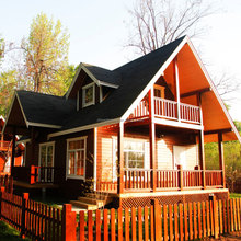 Low Cost Prefabricated House and Wall Panels Prefabricated Log House Canadian Prefabricated wood