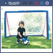 PVC inflatable soccer goal for kids