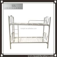 school bedroom furniture white metal bunk bed