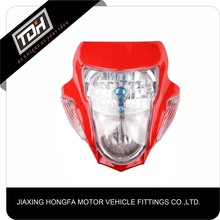 China direct sale new cool universal headlight motorcycle for racing bike