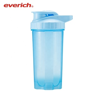 Protein Shaker Empty Plastic Sports Shake Water Bottles Custom Bottle Powder Shaker Cup Promotion Outdoor BPA Free