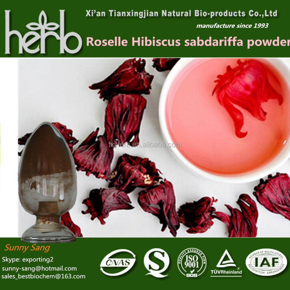 25 Anthocyanin Hibiscus Dried Flowers Roselle Hibiscus Flower