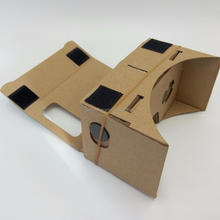 Cheapest Folding Mini Google Cardboard 3D Vr Box 3D Glasses 1.0 Virtual Reality User Manual